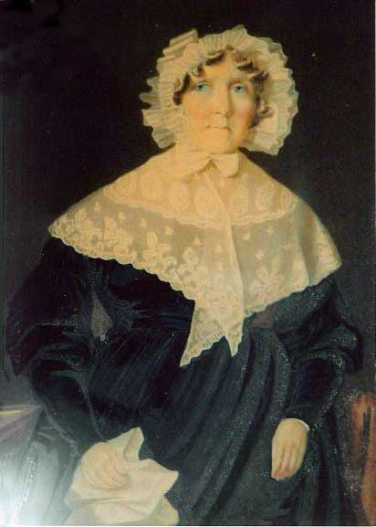 Ruth Francis, nee Grosvenor 1778-1860, wife of Henry Francis 1774-1856